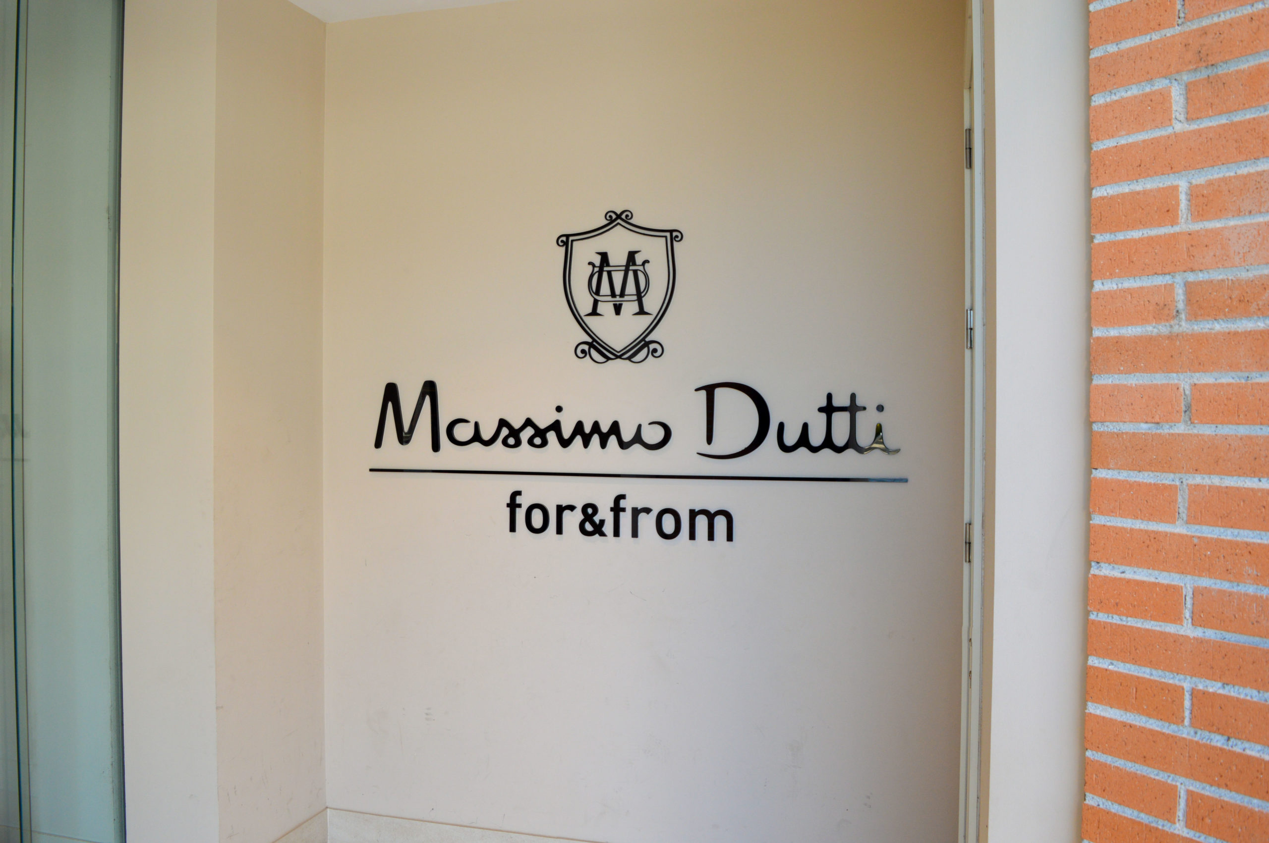Massimo Dutti for&from